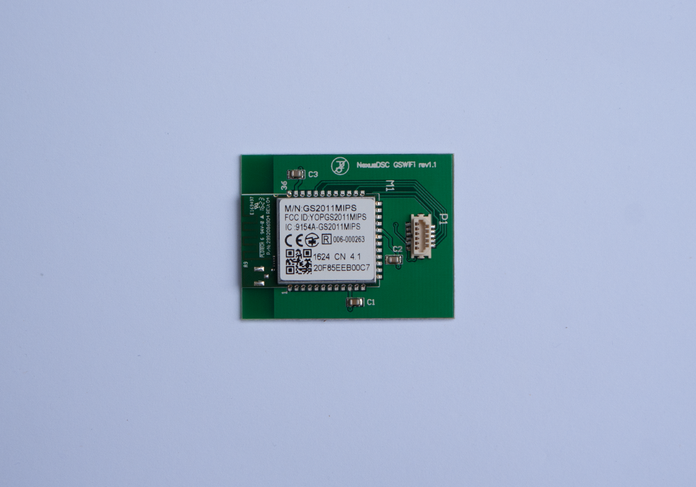 Nexus DSC WiFi Card