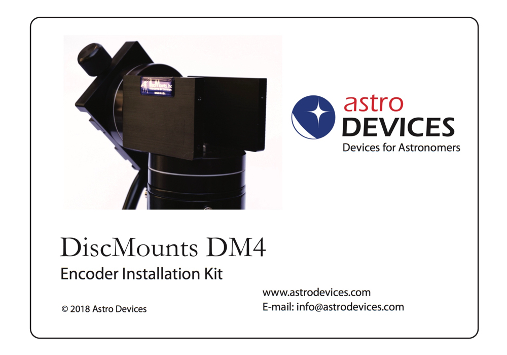 DiscMounts DM4 Encoder Kit