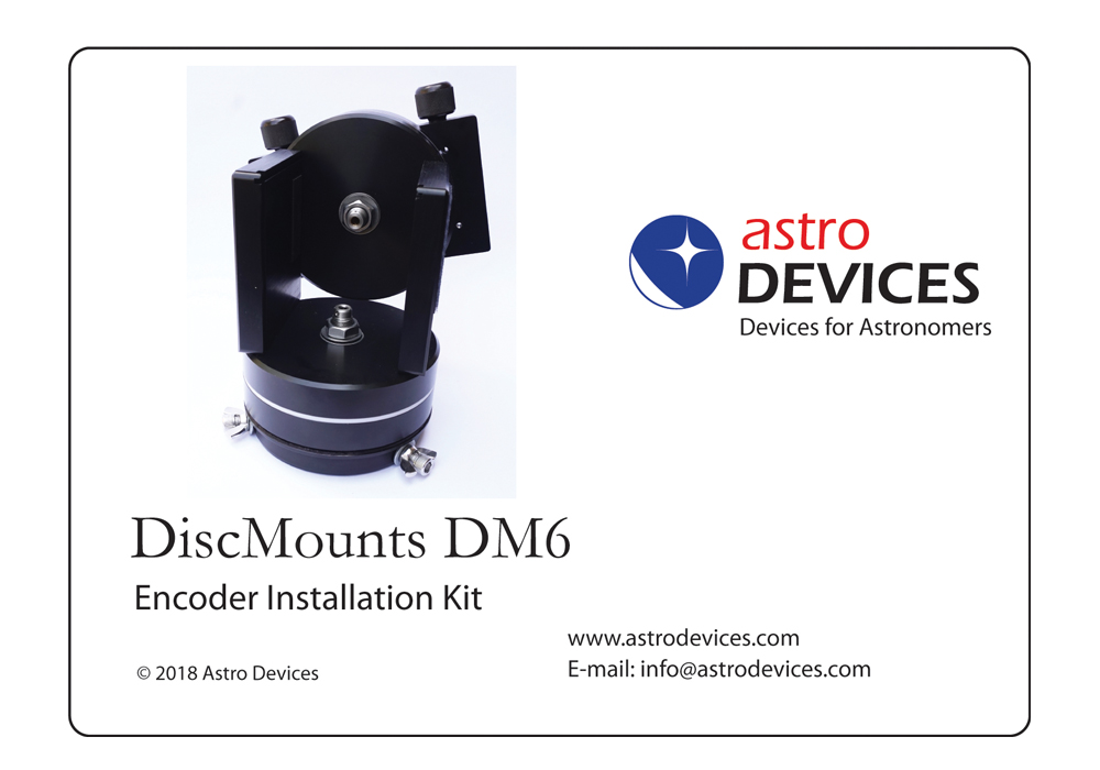 DiscMounts DM6 Encoder Kit
