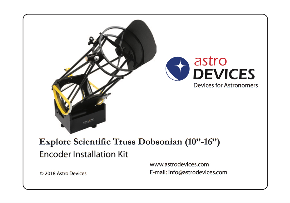 Explore Scientific Truss Dobsonian Encoder Kit