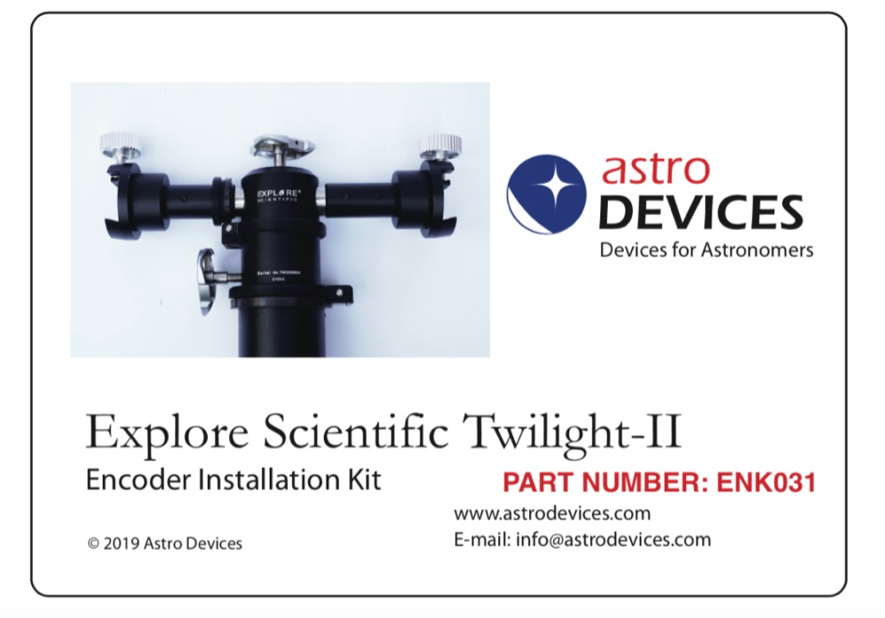 Explore Scientific Twilight-II Encoder Kit