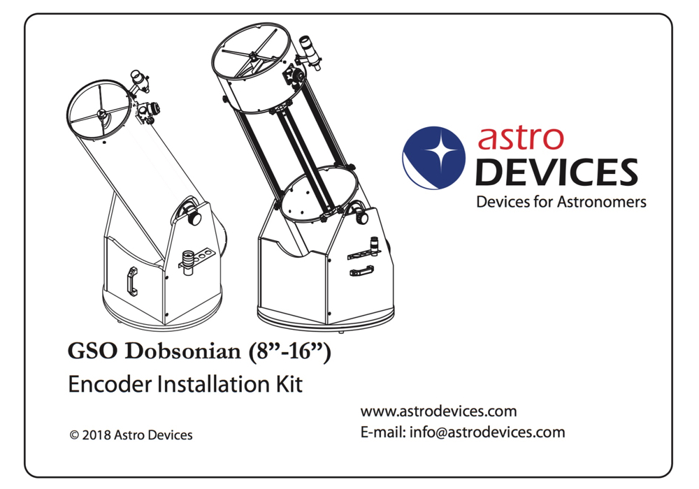 GSO Dobsonian Encoder Kit