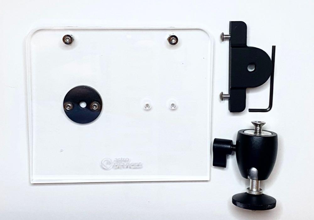 Nexus DSC shelf for Televue mounts with eyepiece caddy